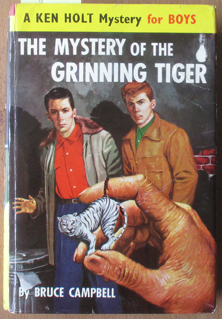 Image for Mystery of the Grinning Tiger, The: A Ken Holt Mystery for Boys