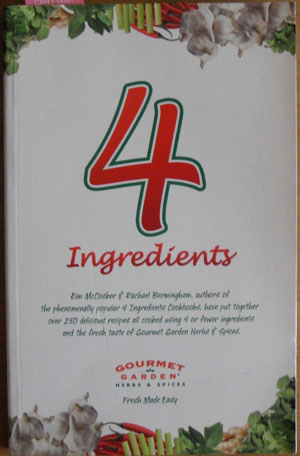 Image for 4 Ingredients with Gourmet Garden Herbs & Spices
