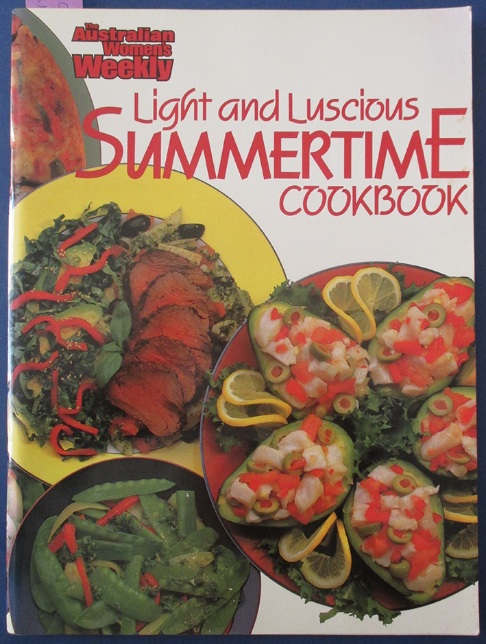 Image for Light and Luscious Summertime Cookbook (The Australian Women's Weekly)