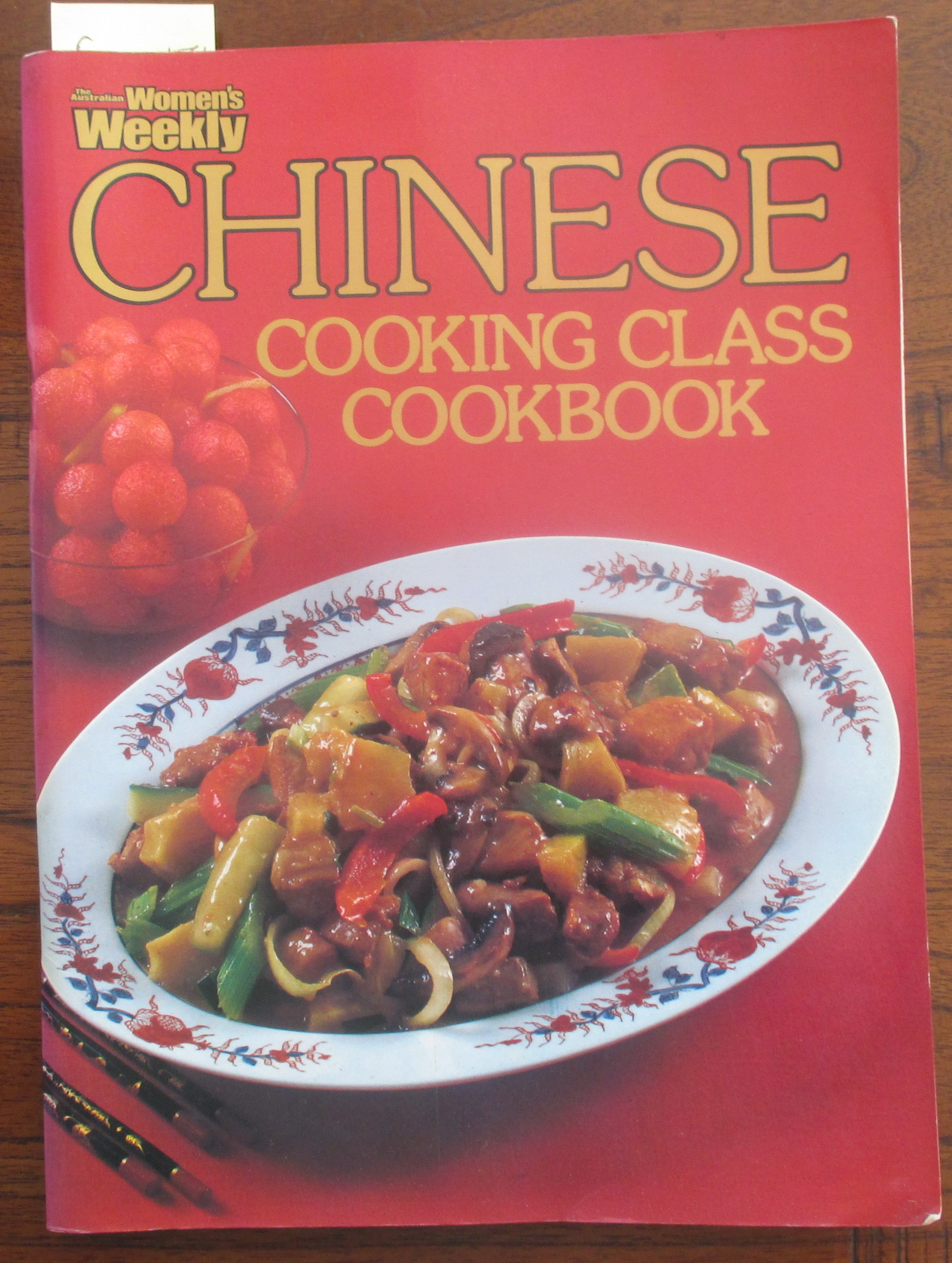 Image for Chinese Cooking Class Cookbook (The Australian Women's Weekly Home Library)