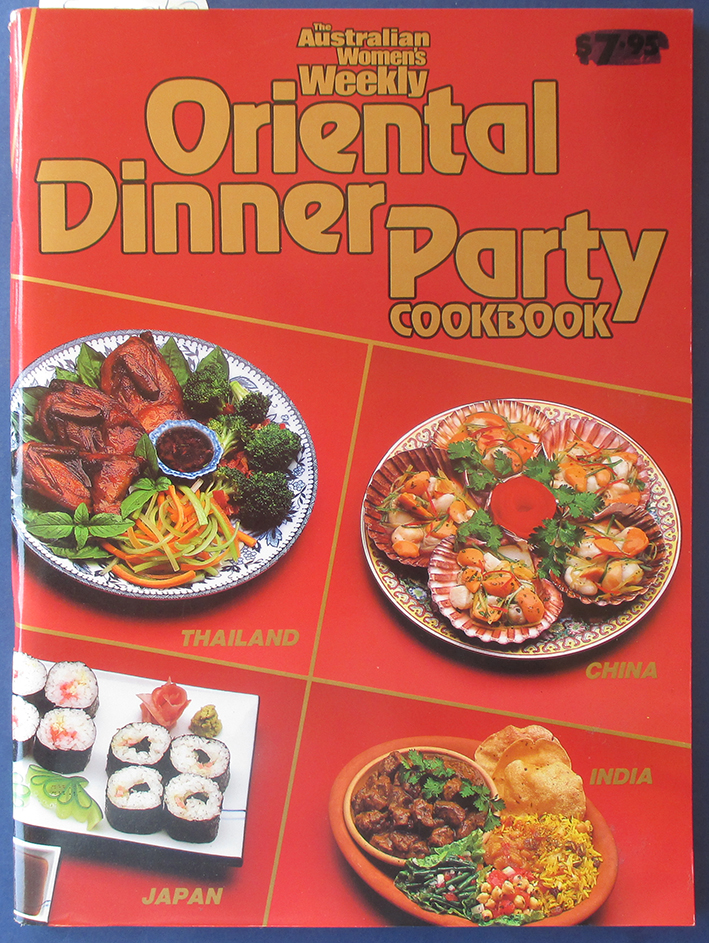 Image for Oriental Dinner Party Cookbook (The Australian Women's Weekly)