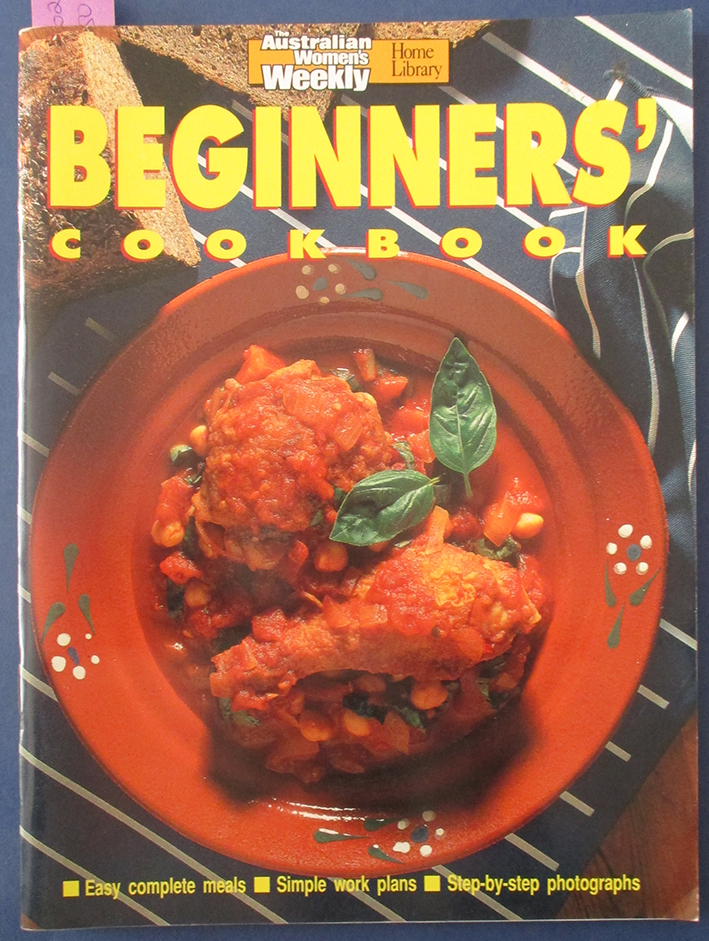 Image for Beginners' Cookbook (The Australian Women's Weekly Home Library)