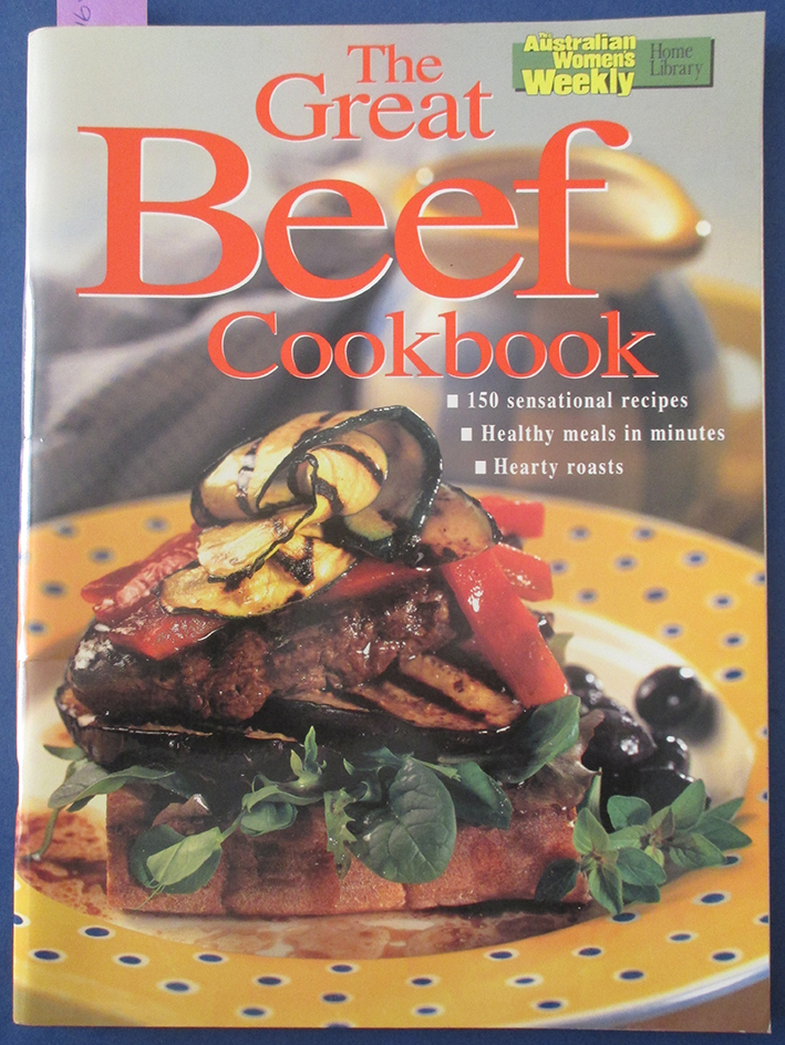 Image for Great Beef Cookbook, The (The Australian Women's Weekly Home Library)