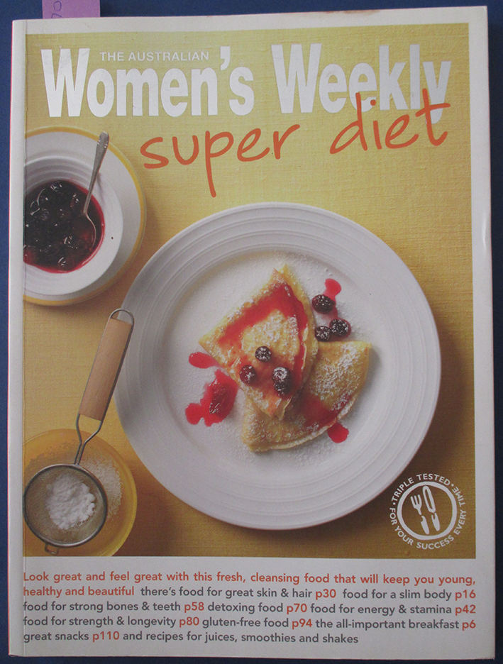Image for Super Diet (The Australian Women's Weekly)