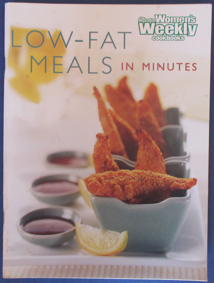 Image for Low-Fat Meals in Minutes (The Australian Women's Weekly Cookbooks)