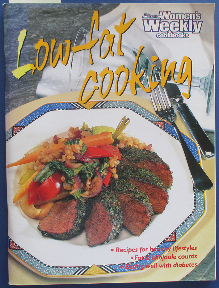 Image for Low Fat Cooking (The Australian Women's Weekly Cookbooks)