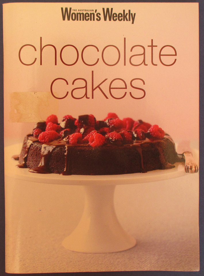 Image for Chocolate Cakes (The Australian Women's Weekly)