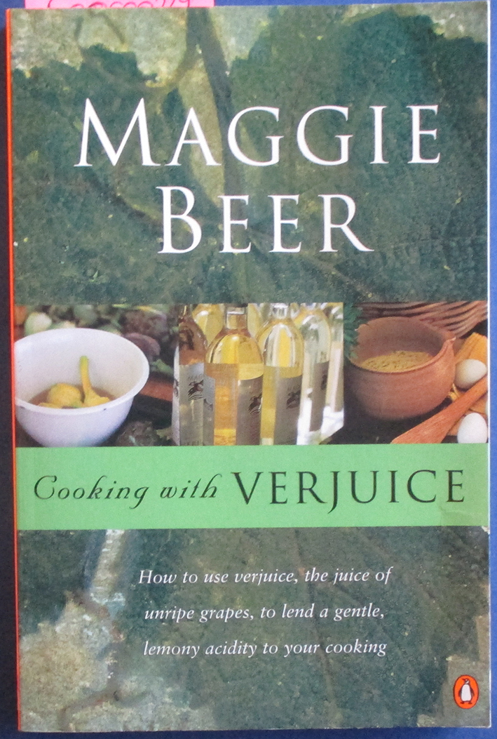 Image for Cooking With Verjuice
