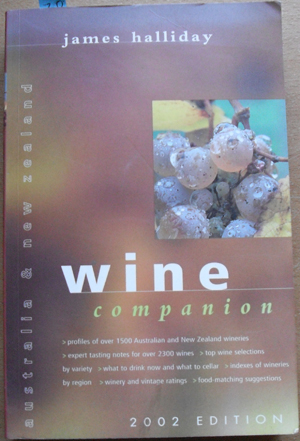 Image for Australia & New Zealand Wine Companion (2002)
