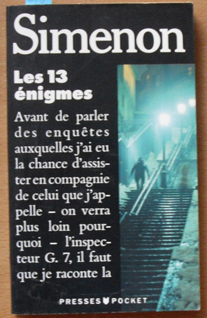 Image for Les 13 Enigmes