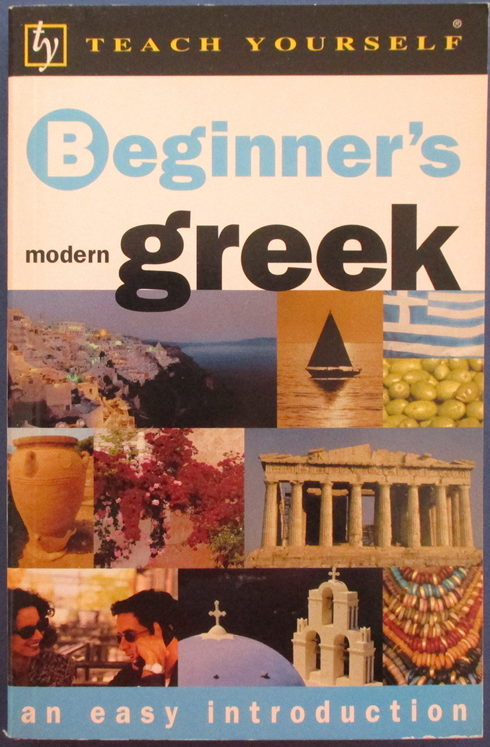 Image for Beginner's Modern Greek: An Easy Introduction (Teach Yourself)
