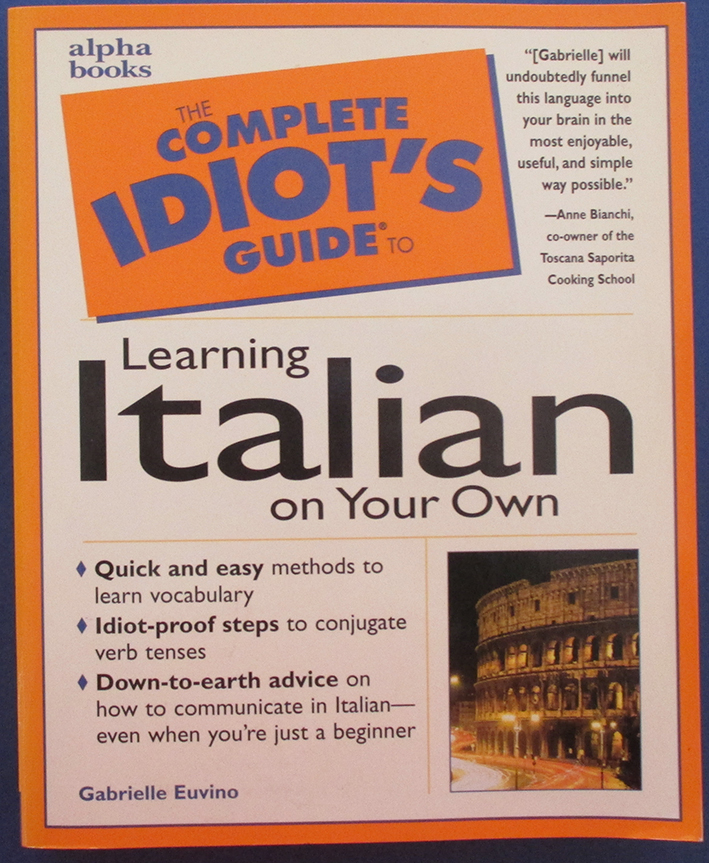Image for Complete Idiot's Guide to Learning Italian on Your Own