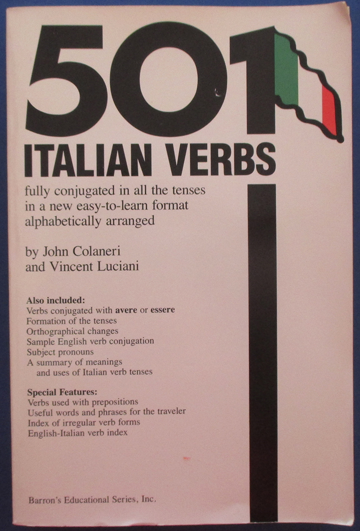 Image for 501 Italian Verbs
