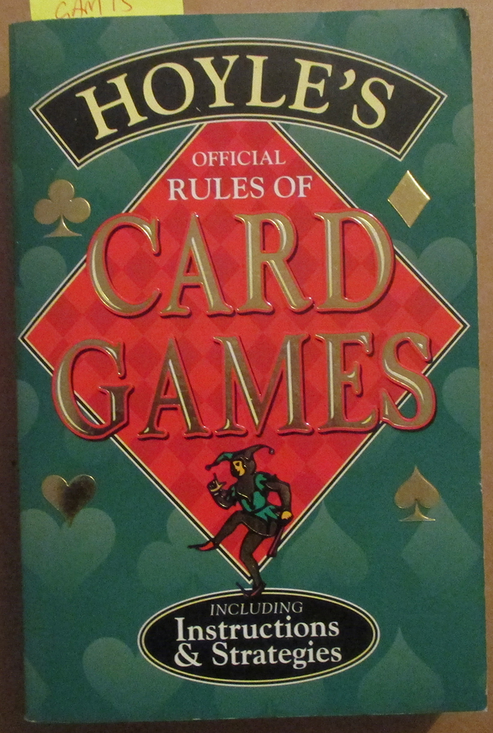 Image for Hoyle's Official Rules of Card Games (Including Instructions & Strategies)