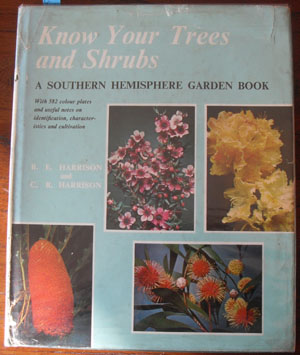 Image for Know Your Trees and Shrubs: A Southern Hemisphere Garden Book