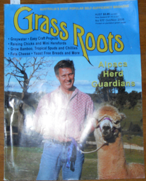 Image for Grass Roots: Australia's Most Popular Self-Sufficiency Magazine - No. 177 - Oct/Nov 2006