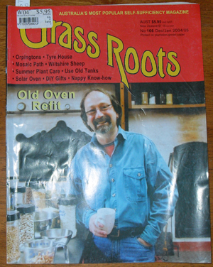 Image for Grass Roots: Australia's Most Popular Self-Sufficiency Magazine - No. 166 - Dec/Jan 2004/05