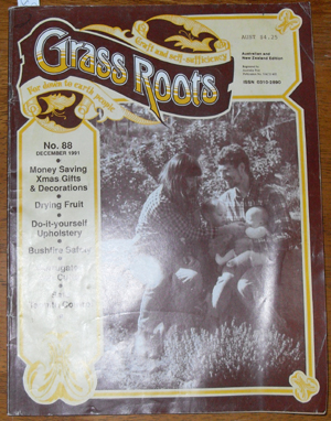 Image for Grass Roots: Craft and Self-Sufficiency for Down to Earth People - No. 88 - December 1991