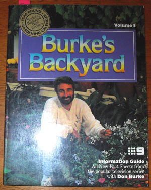 Image for Burke's Backyard: Volume 3