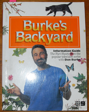 Image for Burke's Backyard: Information Guide