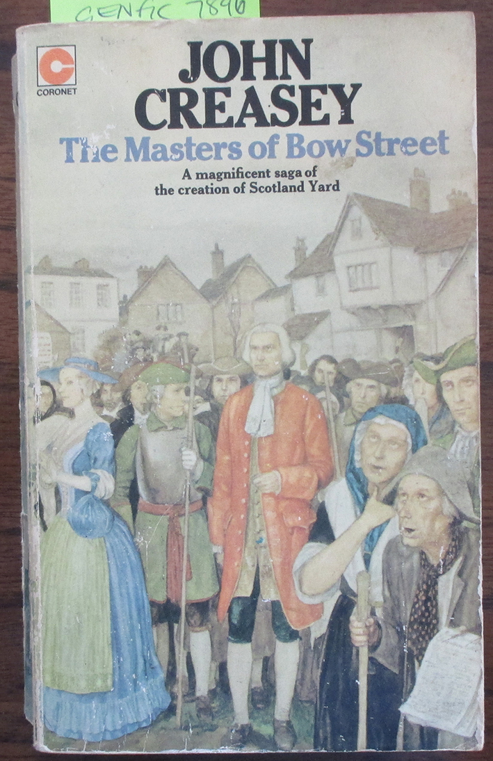 Image for Masters of Bow Street, The