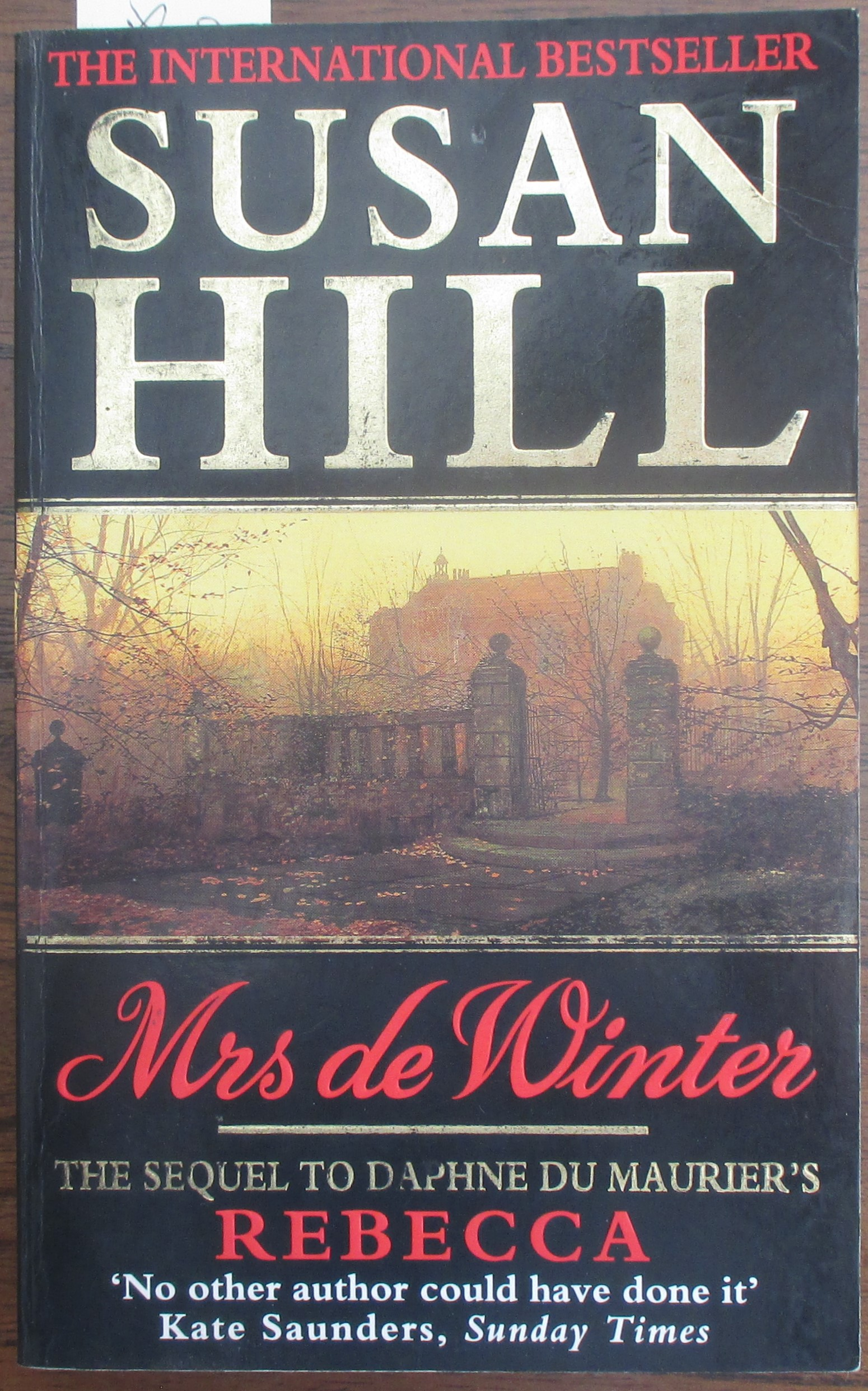 Image for Mrs De Winter