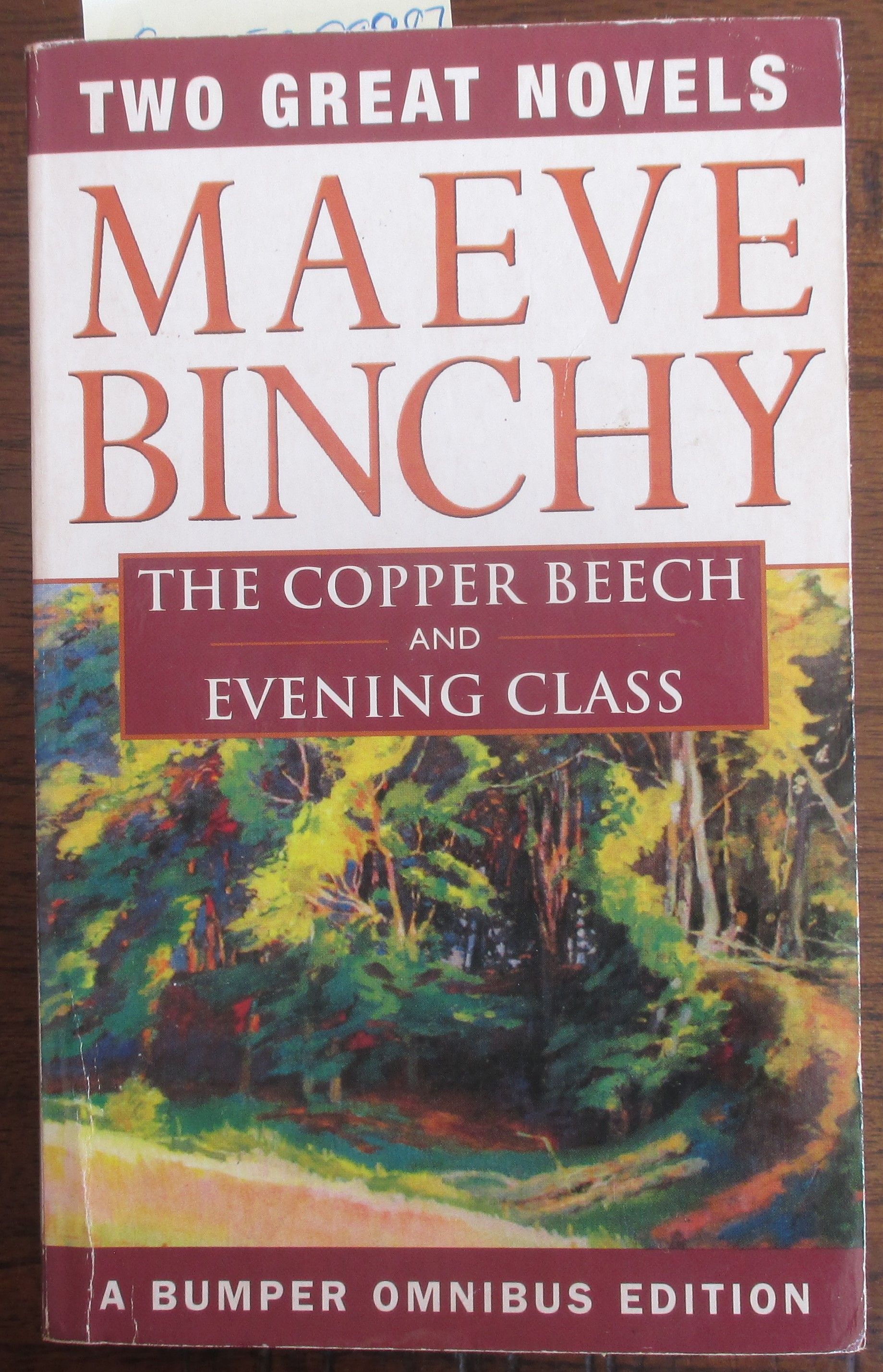 Image for Copper Beech, The; and Evening Class