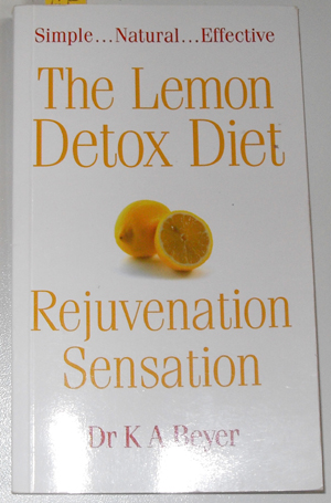Image for Lemon Detox Diet, The: Rejuvenation Sensation