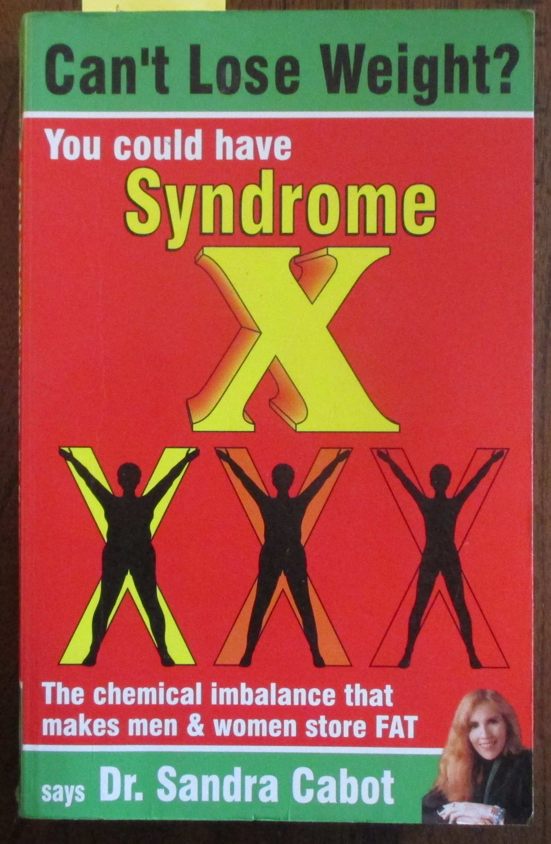 Image for Can't Lose Weight? You Could Have Syndrome X: