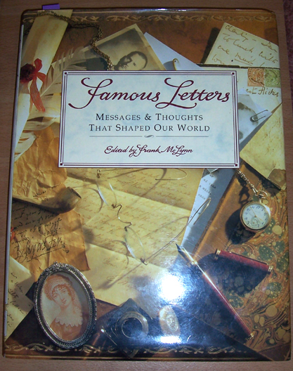 Image for Famous Letters: Messages and Thoughts That Shaped Our World
