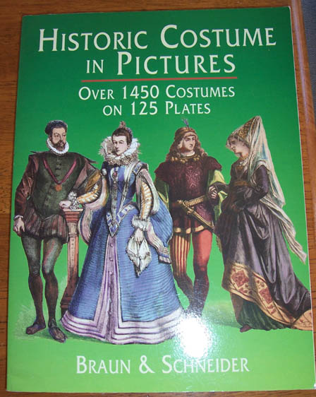 Image for Historic Costume in Pictures: Over 1450 Costumes on 125 Plates