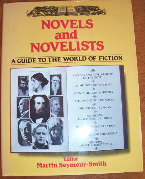 Image for Novels and Novelists: A Guide to the World of Fiction