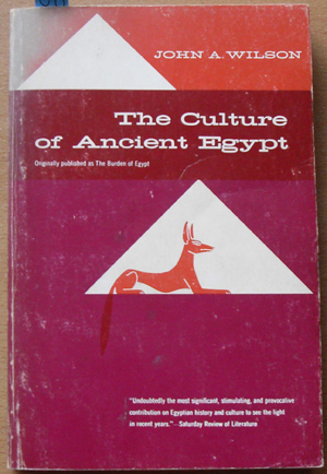 Image for Culture of Ancient Egypt, The
