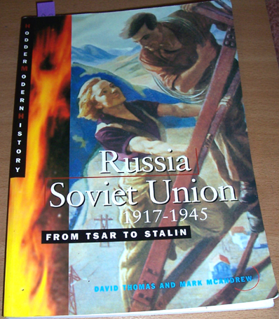 Image for Russia Soviet Union 1917-1945: From Tsar to Stalin