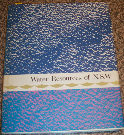 Image for Water Resources of N.S.W