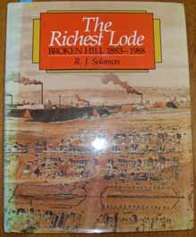 Image for Richest Lode, The: Broken HIll 1883-1988
