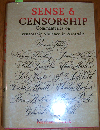Image for Sense & Censorship: Commentaries on Censorship Violence in Australia