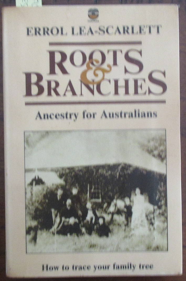 Image for Roots & Branches: Ancestry for Australians