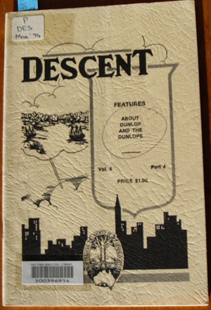 Image for Descent: The Journal of the Society of Australian Genealogists (Vol 6, March 1974, Part 4)