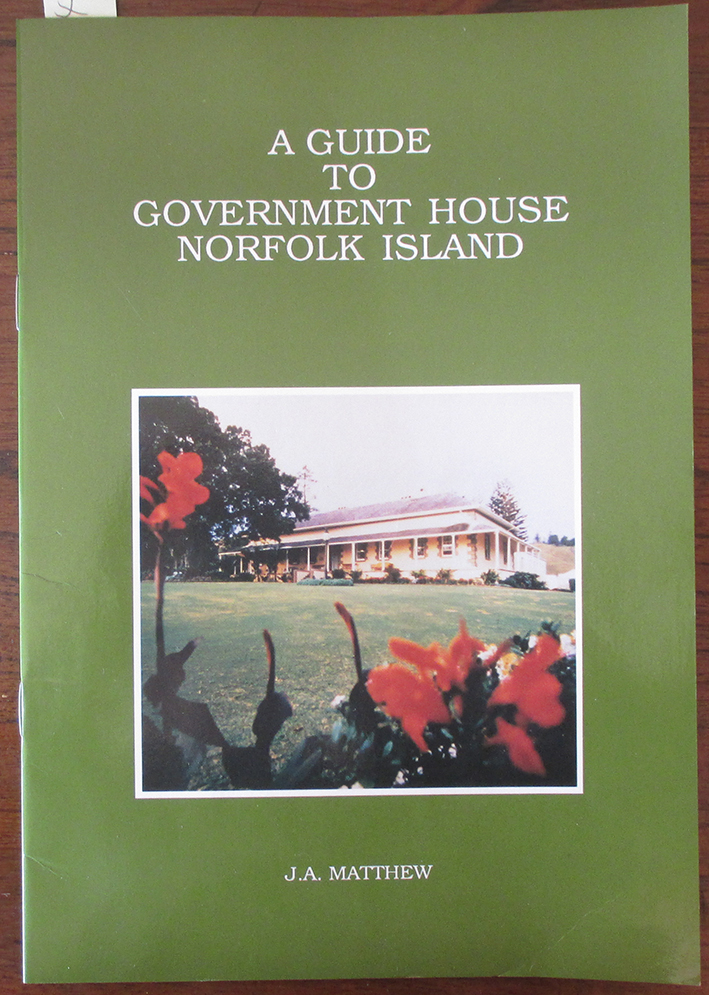 Image for Guide to Government House Norfolk Island, A