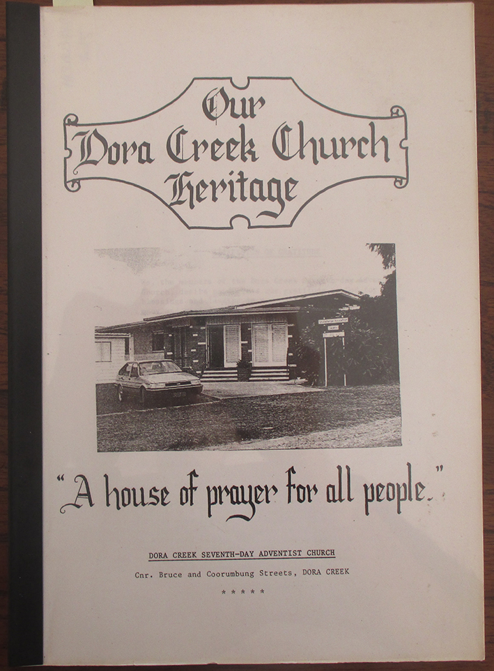 Image for Our Dora Creek Church Heritage: A House of Prayer For All People