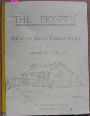 Image for Pioneer, The: Journal of the Stroud and District Historical Society (Vol 1, No 9-14, Feb 1973-Jul 1974)
