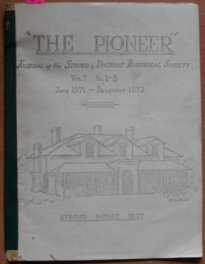 Image for Pioneer, The: Journal of the Stroud and District Historical Society (Vol 1, No 1-8, Jun 1971-Dec 1972)