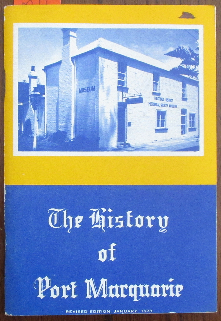 Image for History of Port Macquarie, The
