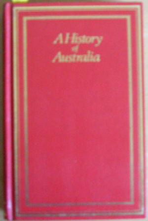 Image for History of Australia, A