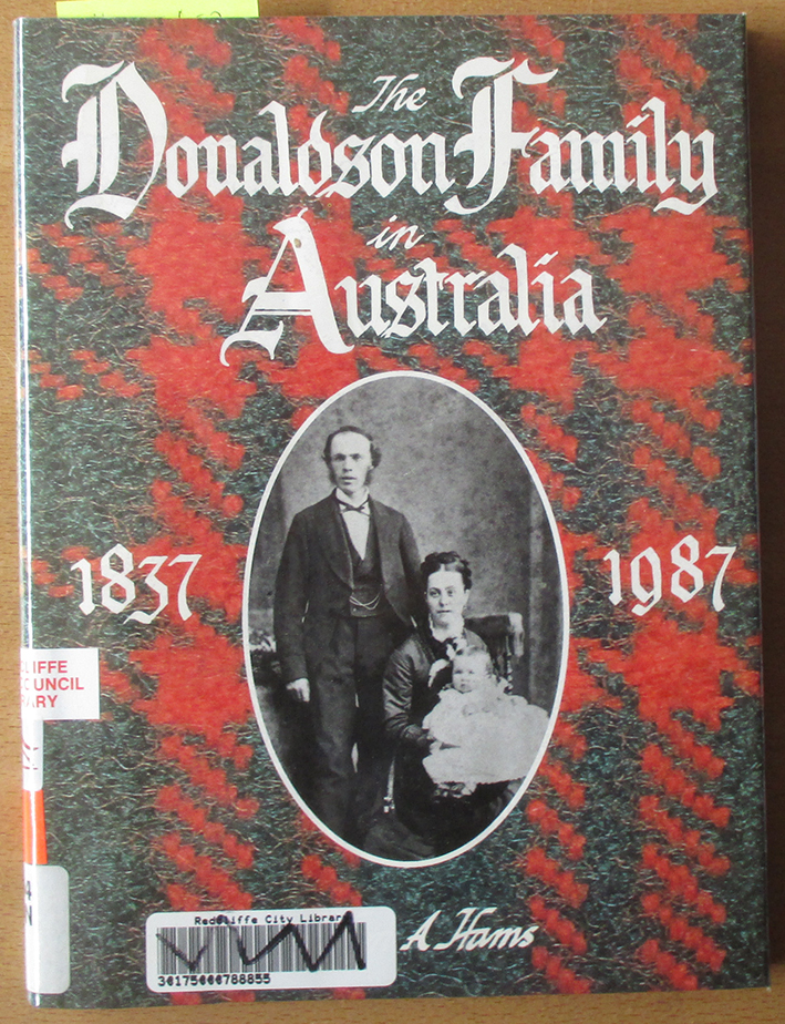 Image for Donaldson Family in Australia, The (1837-1987)
