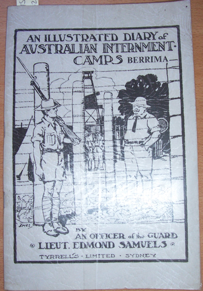 Image for Illustrated Diary of Australian Internment Camps, An; Berrima