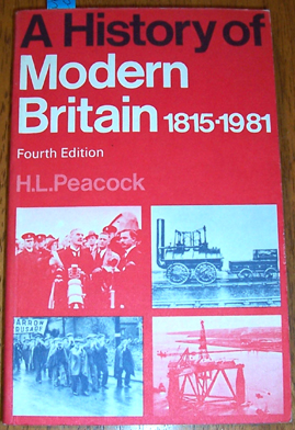 Image for History of Modern Britain, A: 1815-1981