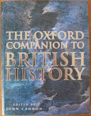 Image for Oxford Companion to British History, The
