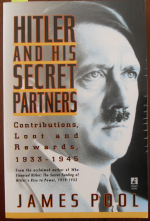 Image for Hitler and His Secret Partners: Contributions, Loot and Rewards, 1933-1945